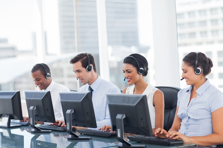 Technology Management Image: Call Center Technical Support